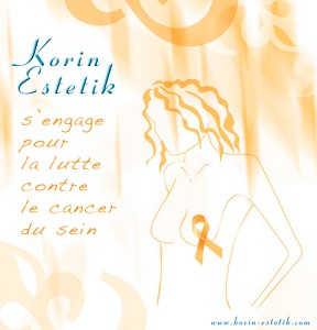 Korin Estetik est engagée dans lutte contre le cancer du sein